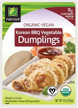 Organic Vegan Korean BBQ Vegetable Dumplings