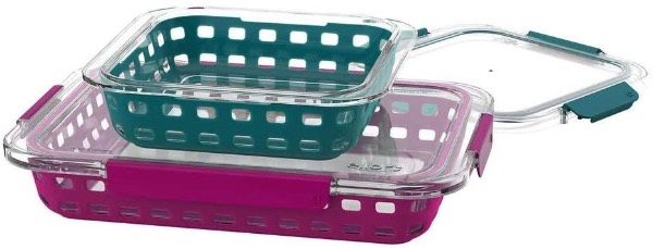 ello glass baking dishes with lids.